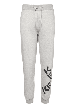 Logo Print Cotton Blend Sweatpants