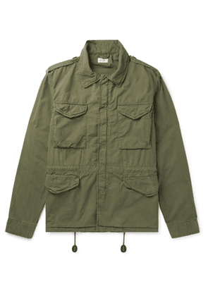 Hartford - Jet Cotton-Twill Jacket - Men - Green