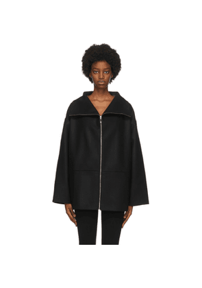 Toteme Black Wool Menfi Jacket