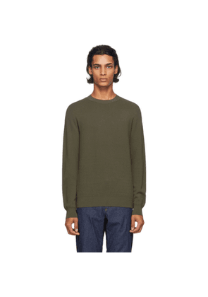 A.P.C. Khaki Wire Pullover Sweater