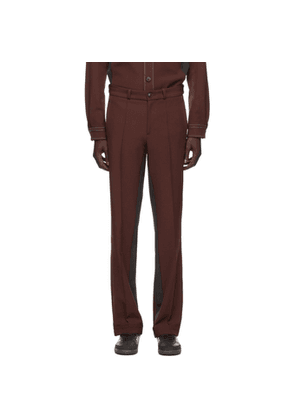Wales Bonner Burgundy adidas Originals Edition Rock Trousers