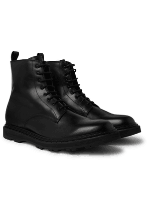 Officine Creative - Lydon Leather Boots - Men - Black