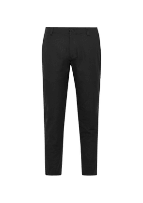 Reigning Champ - Coach's Slim-Fit Tapered Primeflex Trousers - Men - Black