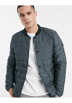 Barbour International Redwell quilt jacket in grey