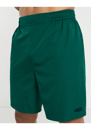 ASOS 4505 training shorts with quick dry in dark green