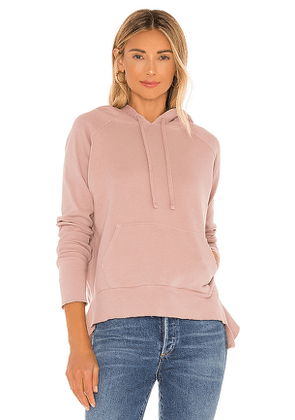 Frank & Eileen Pullover Hoodie in Pink. Size S.