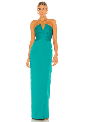 Jay Godfrey Darcy Dress in Green. Size 0, 4, 6, 8, 10.