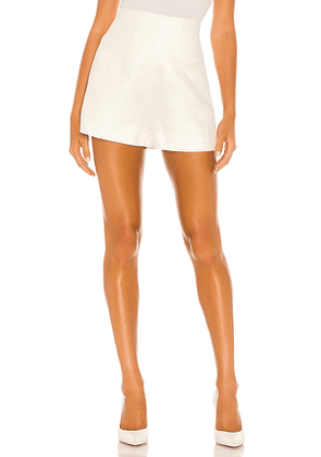 Alexis Camby Shorts in White. Size XS.