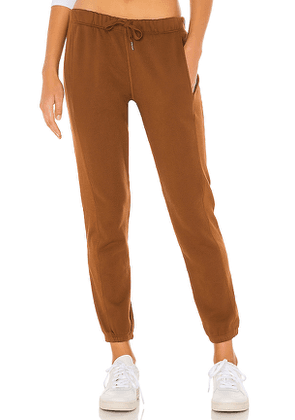 NSF Danica Jogger in Brown. Size XS, M, L.
