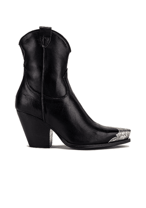 Free People Brayden Western Boot in Black. Size 39, 36, 37.