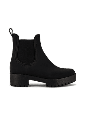 Jeffrey Campbell Cloudy Rainboot in Black. Size 6, 7, 9, 10.