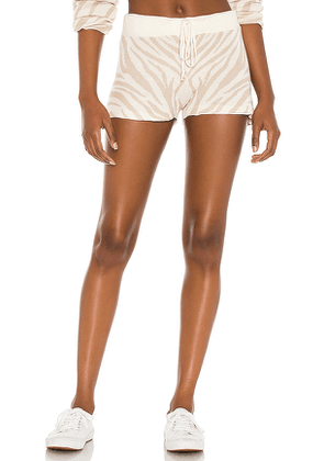 BEACH RIOT X REVOLVE Balboa Short in Tan. Size L, M, XS.