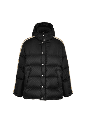 Gucci GG-jacquard Quilted Shell Jacket