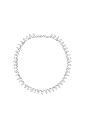 FALLON Monarch Pointed Crystal-embellished Choker