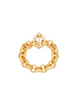 Timeless Pearly 24kt Gold-plated Chain Bracelet