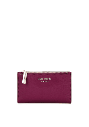 Kate Spade New York Spencer Berry Leather Wallet