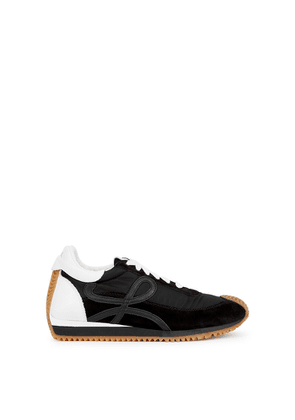 Loewe Flow Runner Black Panelled Sneakers