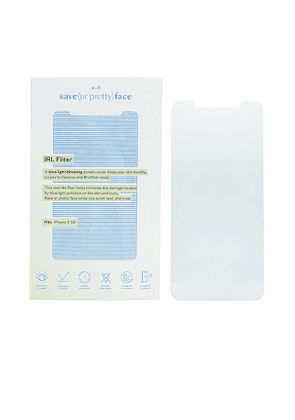 Save(urpretty)face Blue Light Blocking IRL Filter 11/XR in Beauty: NA.