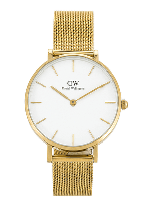 Daniel Wellington Petite Evergold 32 MM Watch in Metallic Gold.