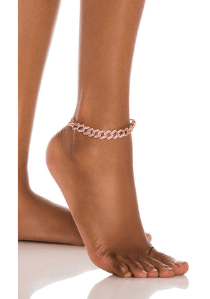 8 Other Reasons Queen Anklet in Pink.