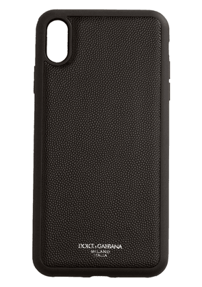 Dolce & Gabbana iPhone XS Max case - Black