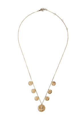 Anissa Kermiche 18kt yellow gold Louise d'Or Collier coin necklace