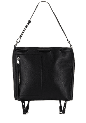 ALLSAINTS Horseferry Backpack in Black.