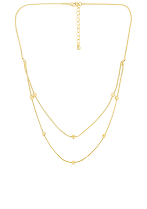 Uncommon James Highland Necklace in Metallic Gold.