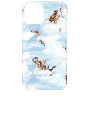 WeWoreWhat Baby Angels iPhone 11 Pro Case in Blue.