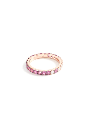 Shay 18k Ruby Ombre Eternity Ring