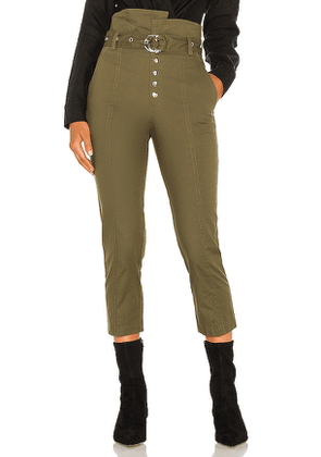 Marissa Webb Gia Pant in Army. Size 2, 4, 6, 8.