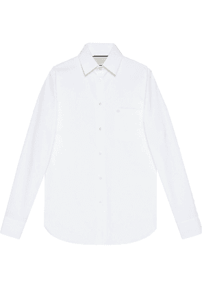 Gucci buttoned tailored shirt - White