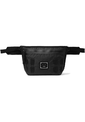 ACNE STUDIOS - Logo-Appliquéd Ripstop Messenger Bag - Men - Black