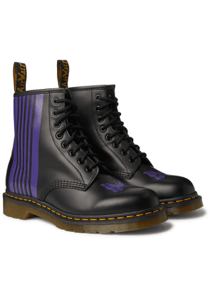 Dr. Martens - Needles 1460 Printed Leather Boots - Men - Black