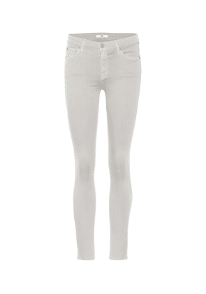 The Skinny Crop mid-rise jeans