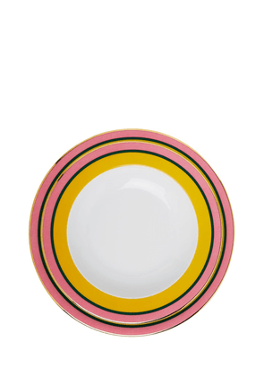 Rainbow Yellow Soup & Dinner Plates
