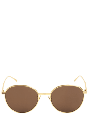 Bv1042sa Round Metal Sunglasses