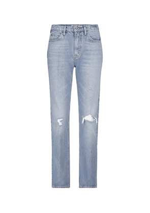 70's Straight high-rise jeans