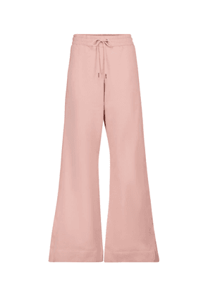 Casual Coolness cotton-blend trackpants