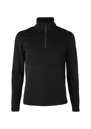Reigning Champ - Slim-Fit Polartec Power Air Half-Zip Sweatshirt - Men - Black