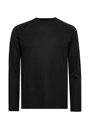 Reigning Champ - Slim-Fit Polartec Power Dry Mesh Base Layer - Men - Black