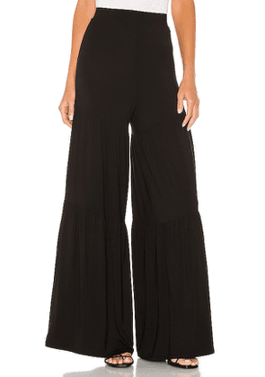 Lovers + Friends Scout Pant in Black. Size S.