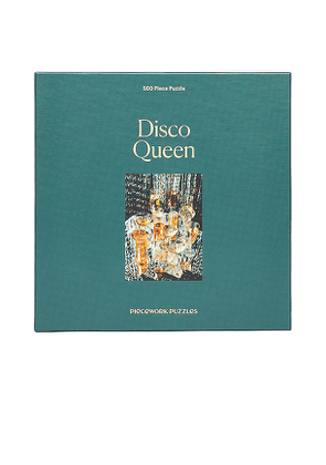 Piecework 500 Piece Puzzle in Green.