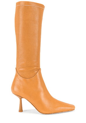 Song of Style Brit Boot in Tan. Size 5.5, 6.5, 7, 7.5, 8.5, 9.5.