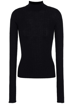 Acne Studios Ribbed Wool Sweater Woman Black Size XXS