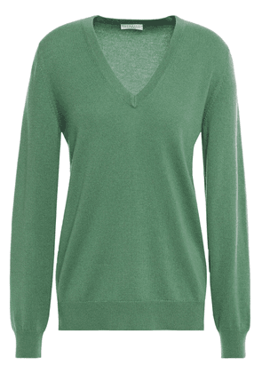 Brunello Cucinelli Cashmere Sweater Woman Leaf green Size S