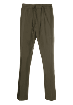 Cmmn Swdn Stan tapered drawstring trousers - Green