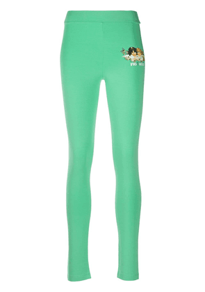 Fiorucci Woodland Angels leggings - Green
