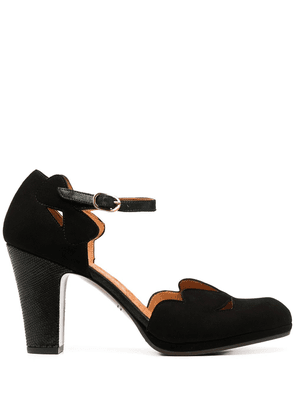 Chie Mihara cut-out shoes - Black