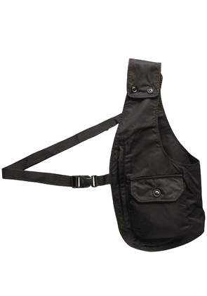 Engineered Garments half-gilet shoulder bag - Black